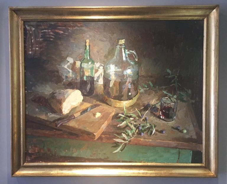 Olive Oil - Painting by Ben Fenske