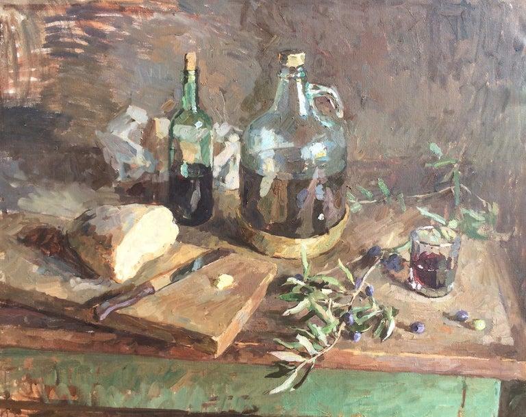 Ben Fenske Still-Life Painting - Olive Oil