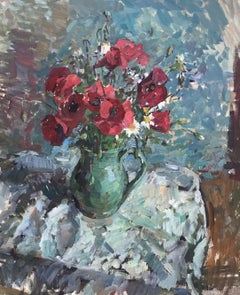 Poppies, Blue