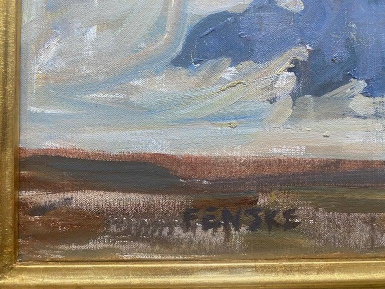Roses, Sunlight  - Impressionist Painting by Ben Fenske