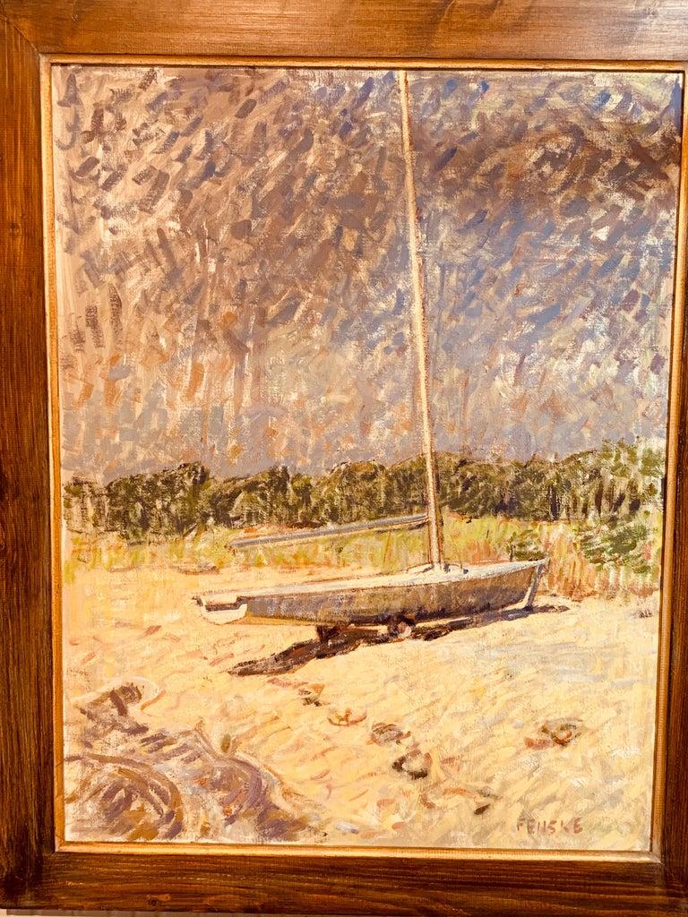 Sailboat - Painting by Ben Fenske