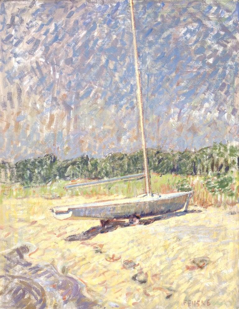 Ben Fenske Figurative Painting - Sailboat