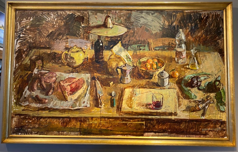 Table, Toricella - Painting by Ben Fenske