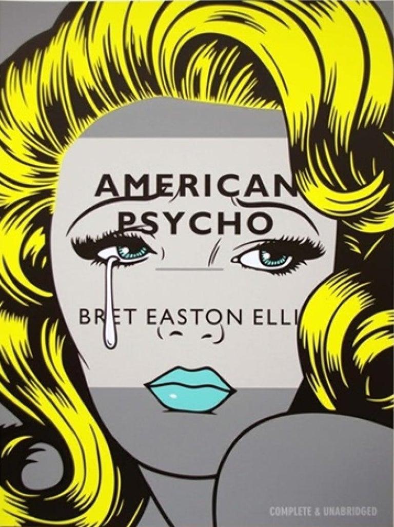 Ben Frost Portrait Print - American Psycho
