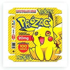"Ben Frost ""Gotta Take Em All"" Print Edition Pikachu Cartoon Anime Pokeman"