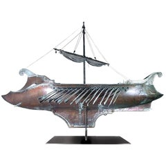 Ben Hur Screen-Used Mechanical Ship Movie Prop
