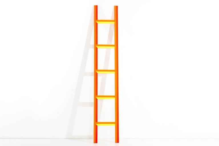 Ben Jones painted wood ladder from his 2009