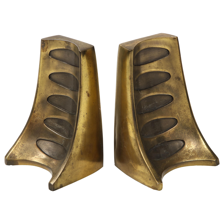Ben Seibel Bronze Bookends