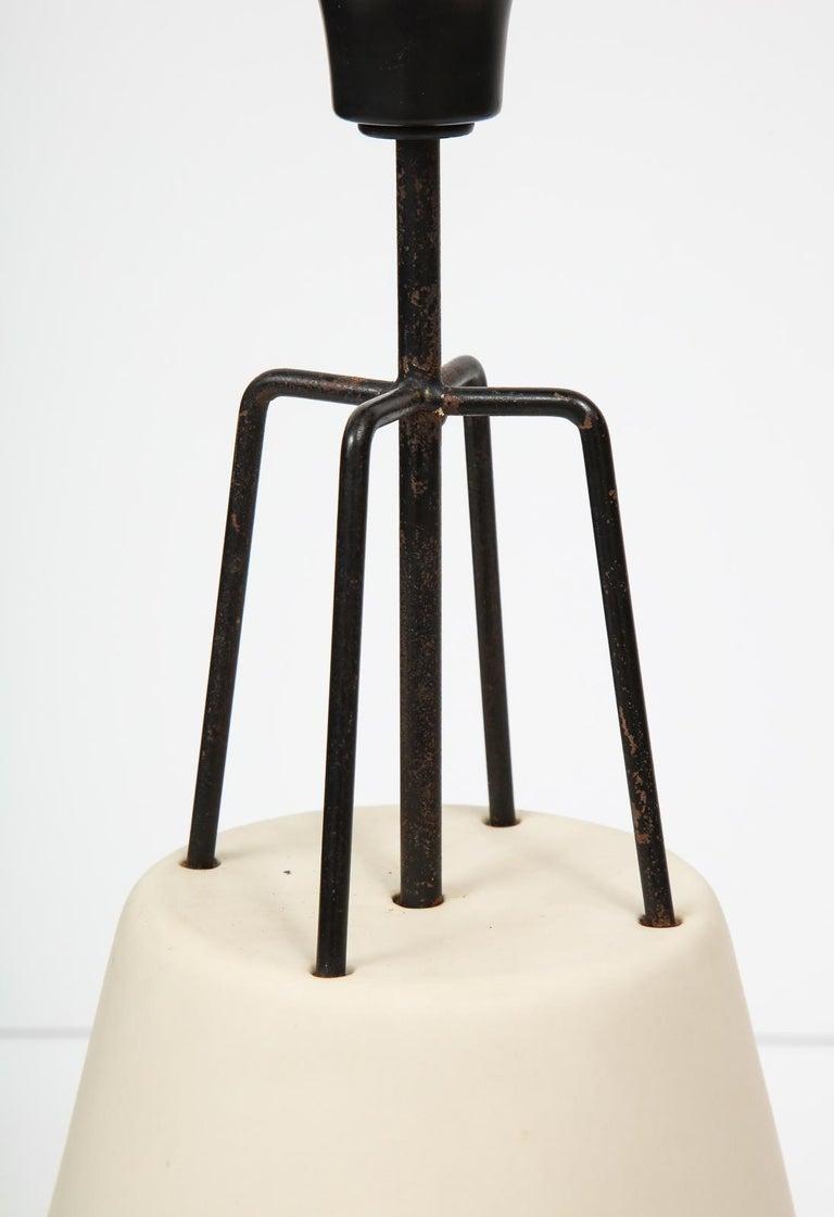 Stoneware Ben Seibel Lamp for Raymor For Sale