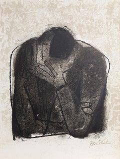 Beside the Dead from the Rilke Portfolio, Ben Shahn