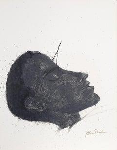 Beside the Dying from the Rilke Portfolio, Ben Shahn