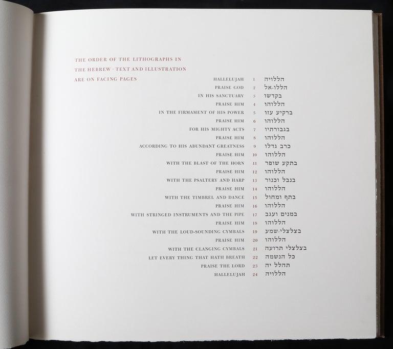 Halleluja Portfolio by Ben Shahn, 24 Lithographs in Portfolio Case For Sale 10