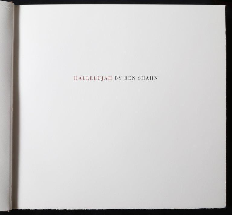 Halleluja Portfolio by Ben Shahn, 24 Lithographs in Portfolio Case For Sale 13