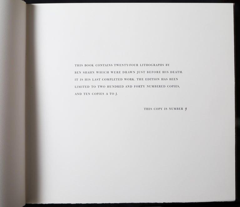 Halleluja Portfolio by Ben Shahn, 24 Lithographs in Portfolio Case For Sale 6