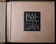 Halleluja Portfolio by Ben Shahn, 24 Lithographs in Portfolio Case
