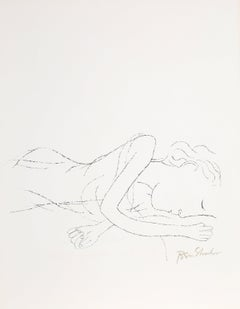 Of Light, White Sleeping Women in Childbed from the Rilke Portfolio