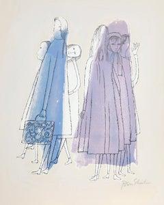 To Days of Childhood from the Rilke Portfolio, Ben Shahn