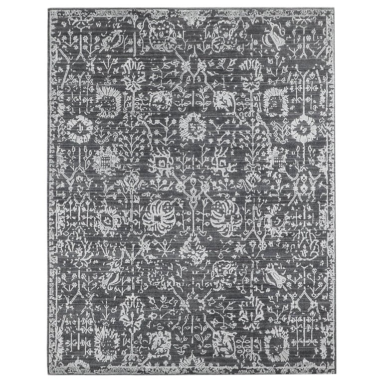 For Sale: Gray (Abra Carbon) Ben Soleimani Abra Rug 9'x12'