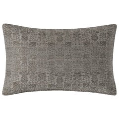"Ben Soleimani Abra Pillow Cover - Graphite 16""x24"""