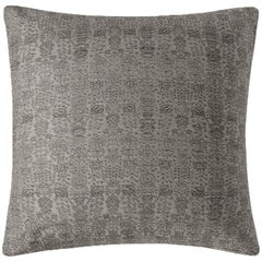 "Ben Soleimani Abra Pillow Cover - Graphite 22""x22"""