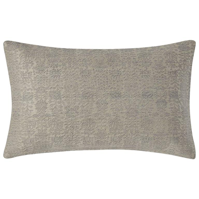 "Ben Soleimani Abra Pillow Cover - Linen 16""x24"" For Sale"