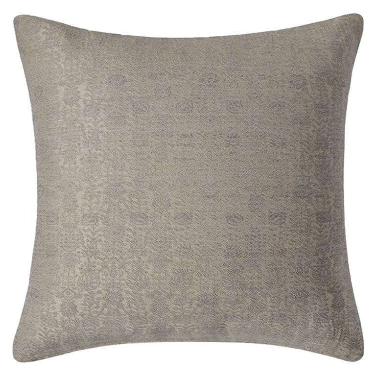 "Ben Soleimani Abra Pillow Cover - Linen 22""x22"" For Sale"
