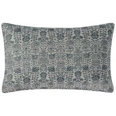 """Ben Soleimani Abra Pillow Cover - Silver 13""""x21"""""""