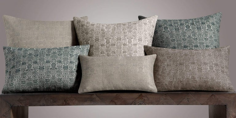 Inspired by our classic Abra Rug, the modern Abra Pillow Cover provides a textural element and dimension to your lounge areas. The tightly woven pattern is a modern interpretation of a traditional floral design.  Size  16