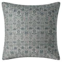 """Ben Soleimani Abra Pillow Cover - Silver 22""""x22"""""""