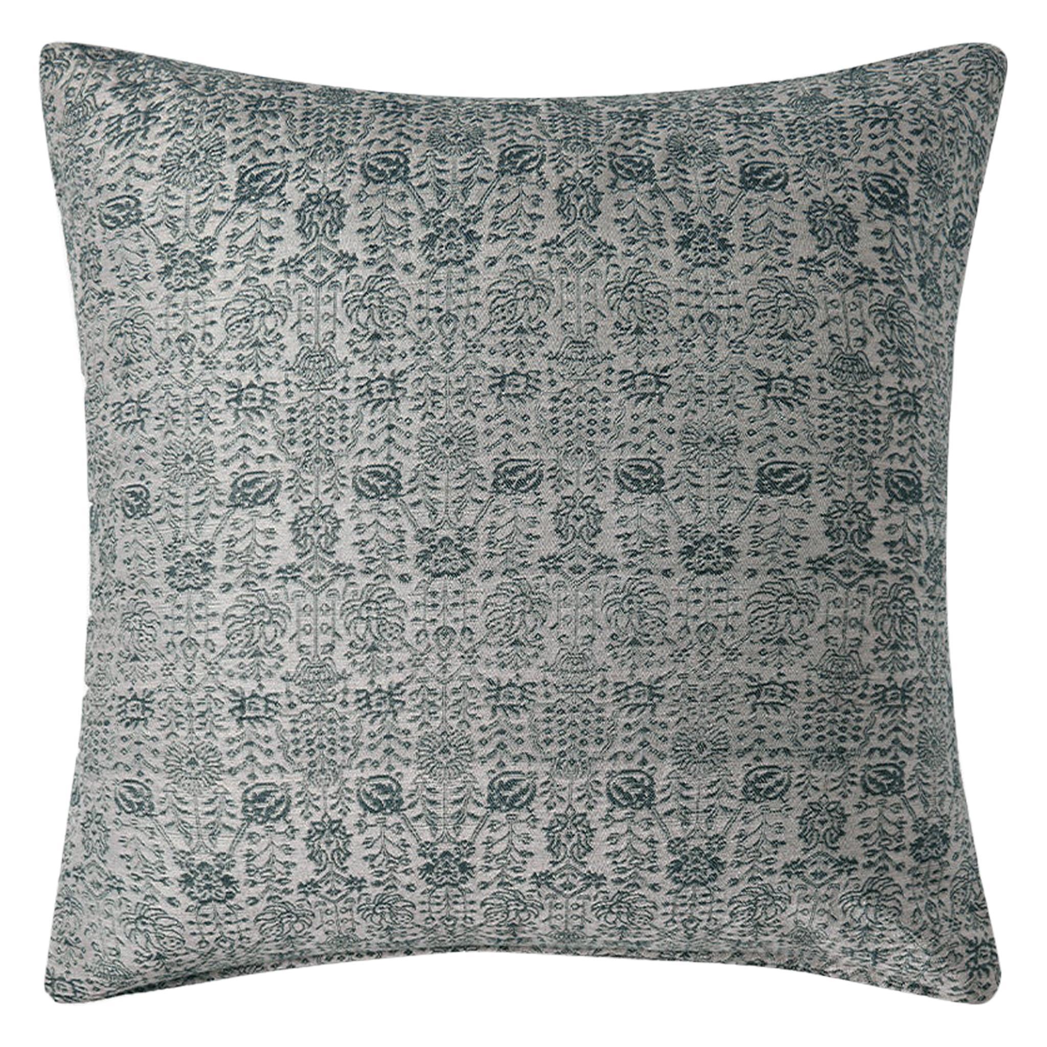 """Ben Soleimani Abra Pillow Cover - Silver 26""""x26"""""""