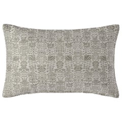 "Ben Soleimani Abra Pillow Cover - White 13""x21"""