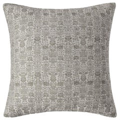 "Ben Soleimani Abra Pillow Cover - White 22""x22"""