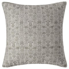 "Ben Soleimani Abra Pillow Cover - White 26""x26"""