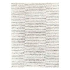 Ben Soleimani Alterno Rug– Hand-woven Textured Soft Wool Sand 10'x14'