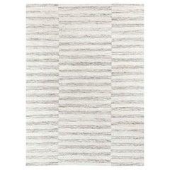 Ben Soleimani Alterno Rug– Hand-woven Textured Soft Wool Sand 12'x15'