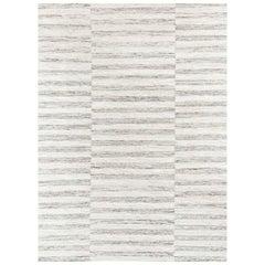 Ben Soleimani Alterno Rug– Hand-woven Textured Soft Wool Sand 6'x9'