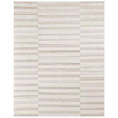 Ben Soleimani Alterno Rug– Hand-woven Textured Soft Wool Sand 12'x18'