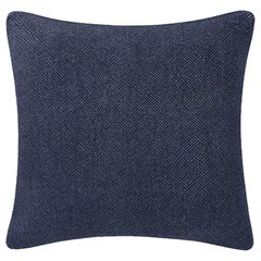 "Ben Soleimani Angled Diamond Pillow Cover - Navy 26""x26"""