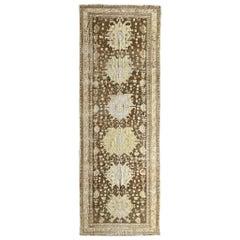 """Ben Soleimani Antique Karaba Rug Southeast Asia, Circa 1910, 4'x11' 6"""" Rug"""