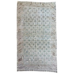 "Ben Soleimani Antique Khotan Rug, East Turkestan Circa 1910 7' x 12'5"" Rug"