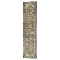 "Ben Soleimani Antique Malayir Rug, West Persia Circa 1900 3'3"" x 12'11"" Rug"