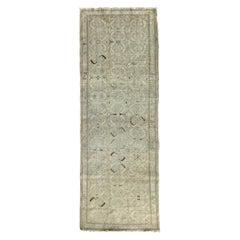 "Ben Soleimani Antique Malayir Rug, West Persia Circa 1900 3'7"" x 10'2"" Rug"