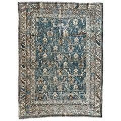 "Ben Soleimani Antique Malayir Rug, West Persia Circa 1900 4' x 5'4"" Rug"