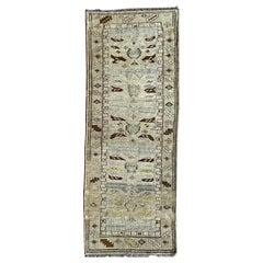 "Ben Soleimani Antique Mayalir Rug West Persia, Circa 1900,  3'x7'7"" Rug"