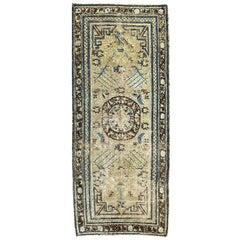 "Ben Soleimani Antique Samarkand Rug, East Turkestan, Circa 1890 3'4"" x 7'7"" Rug"