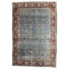 """Ben Soleimani Antique Tabriz Rug, Northwest Persia Circa 1920 6'11"""" x 10'6"""" Rug"""