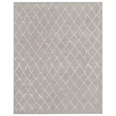 Ben Soleimani Arlequin Rug - Grey 10'x14'