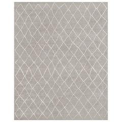 Ben Soleimani Arlequin Rug - Grey 12'x15'