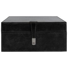 Ben Soleimani Bay Square Leather Box - Large