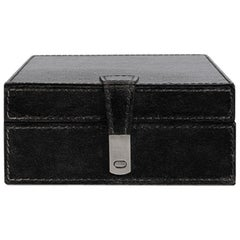 Ben Soleimani Bay Square Leather Box - Medium